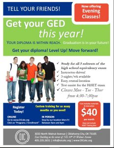 Get your GED