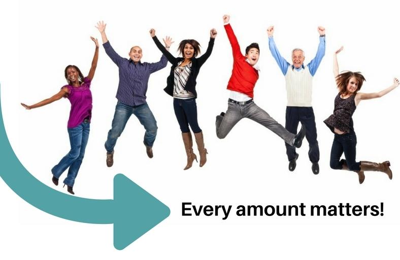 every amount matters