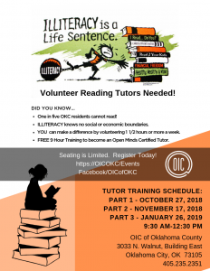 Volunteer Reading Tutor