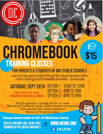 Sept 26 Chromebook Training